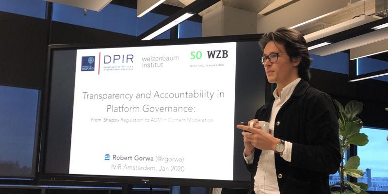Guest lecture Robert Gorwa